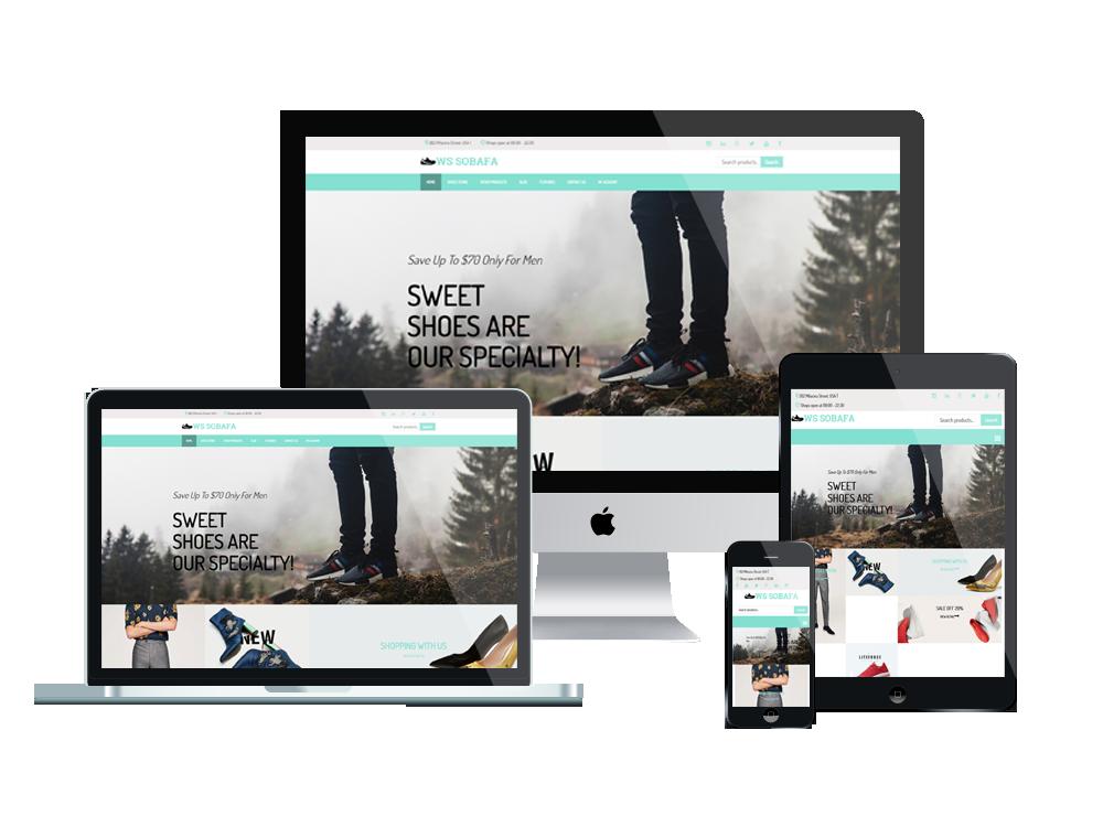 Axiom Responsive Website Mockup